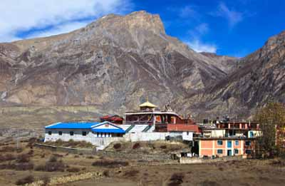 Buddhist temple in Muktinath